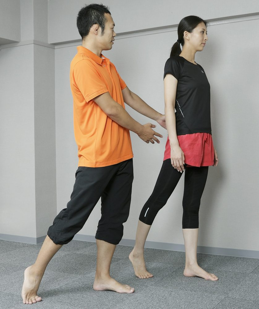 歩き方指導