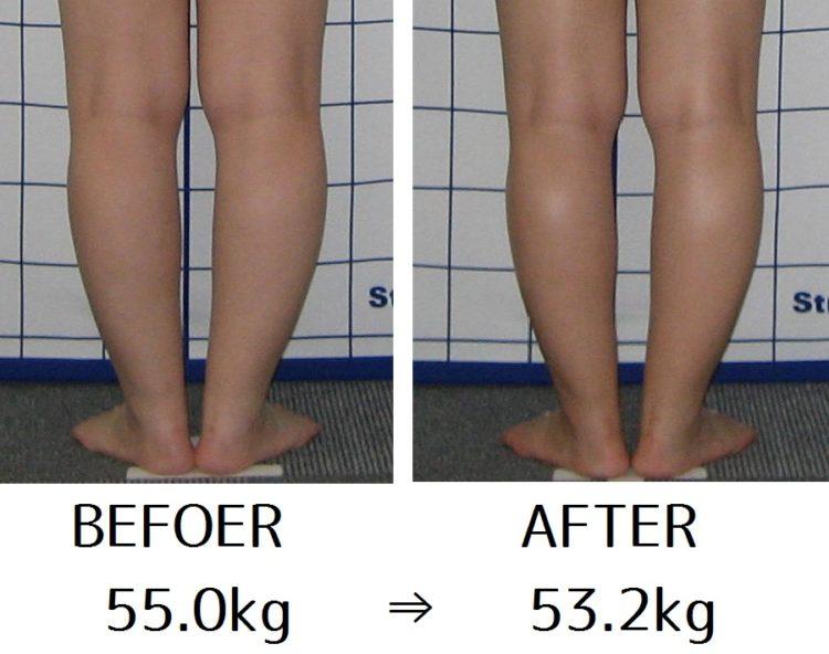 体重マイナス2キロで足首を細くさせるポイントは?